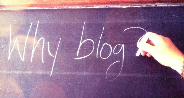 Pourquoi le blog