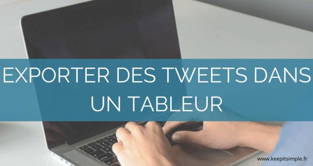 exporter-tweets-tableur