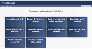 Tweet Beaver