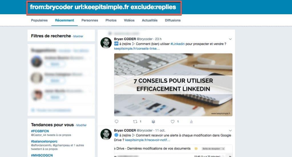 Créer le flux RSS d'un compte Twitter