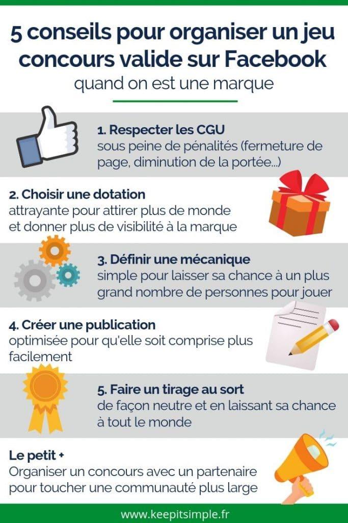 5 conseils pour bien organiser un jeu concours sur Facebook (en toute légalité)