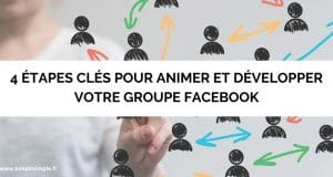 """Vignette de l'article """"4 étapes clés pour animer et développer votre groupe Facebook"""""""