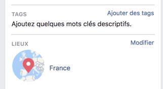 Ajouter un ou plusieurs tags dans un groupe Facebook
